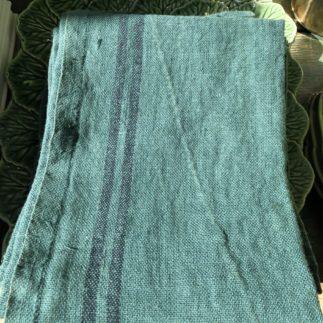 charvet green tea towel