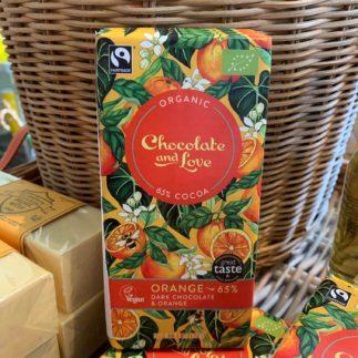 Chocolate Dark with Orange