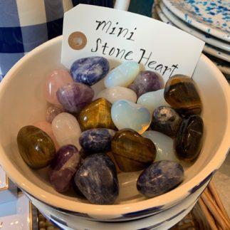 mini stone heart