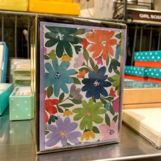 Colorful Flower Card Set