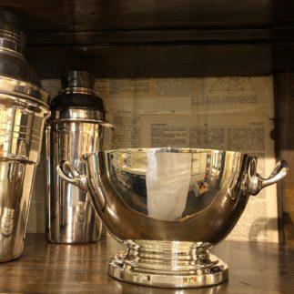 vintage two handled bowl