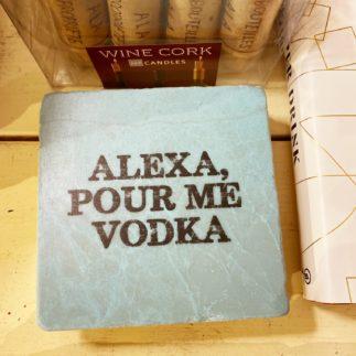 Alexa Vodka Coaster