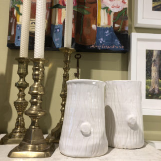 Barbara Eigan Faux Bois Vase