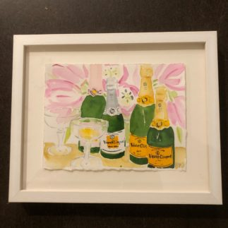 mixed Veuve with coupes painting