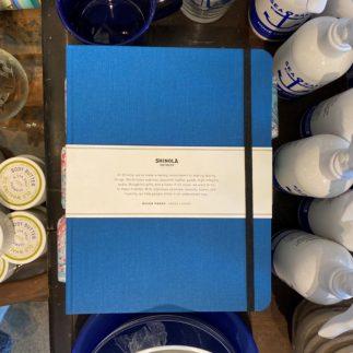 Shinola journal blue