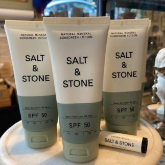 mineral sunscreen lotion salt and stone