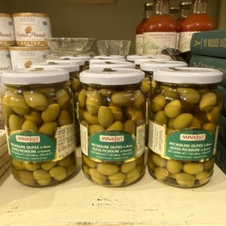 minasso picholine olives