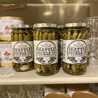 Seattle pickled green beans