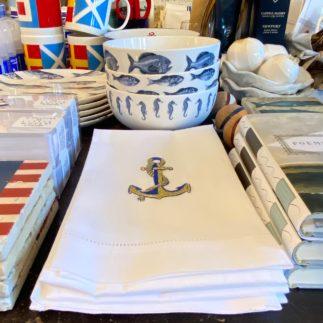 anchor tea towel