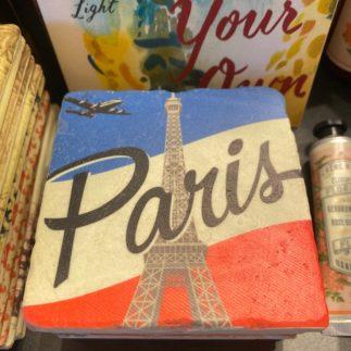 Paris marbled coaster