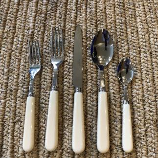 faux ivory cutlery set
