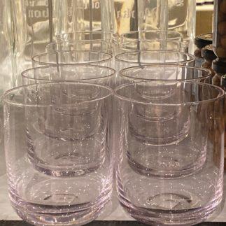 round whiskey glass