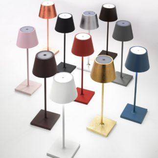 Poldina Red Cordless Lamp