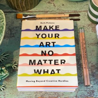 make your art book
