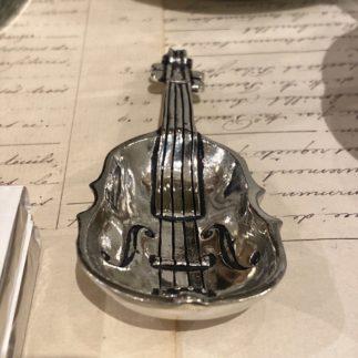 little silver violin